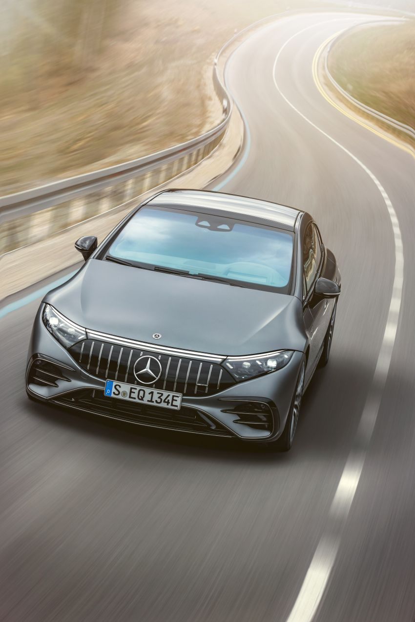 Mercedes-AMG EQS53 4Matic+ revealed – brand's first performance EV receives up to 761 PS and 1,020 Nm Image #1341498