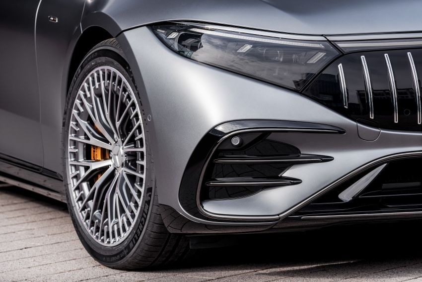 Mercedes-AMG EQS53 4Matic+ revealed – brand's first performance EV receives up to 761 PS and 1,020 Nm Image #1341528