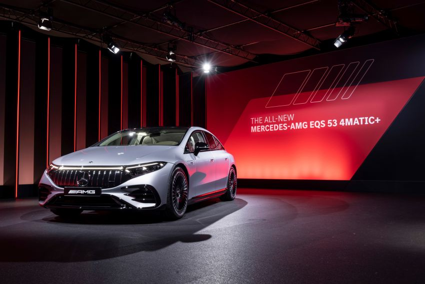 Mercedes-AMG EQS53 4Matic+ revealed – brand's first performance EV receives up to 761 PS and 1,020 Nm Image #1341530