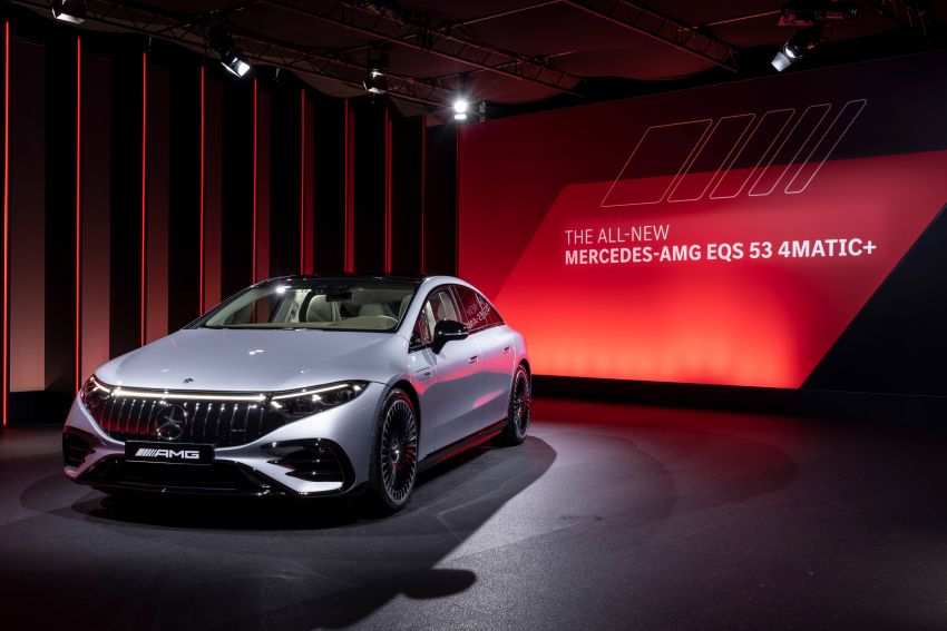 Mercedes-AMG EQS53 4Matic+ revealed – brand's first performance EV receives up to 761 PS and 1,020 Nm Image #1341531