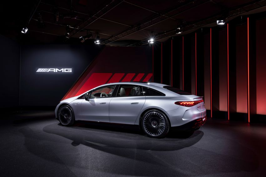 Mercedes-AMG EQS53 4Matic+ revealed – brand's first performance EV receives up to 761 PS and 1,020 Nm Image #1341532