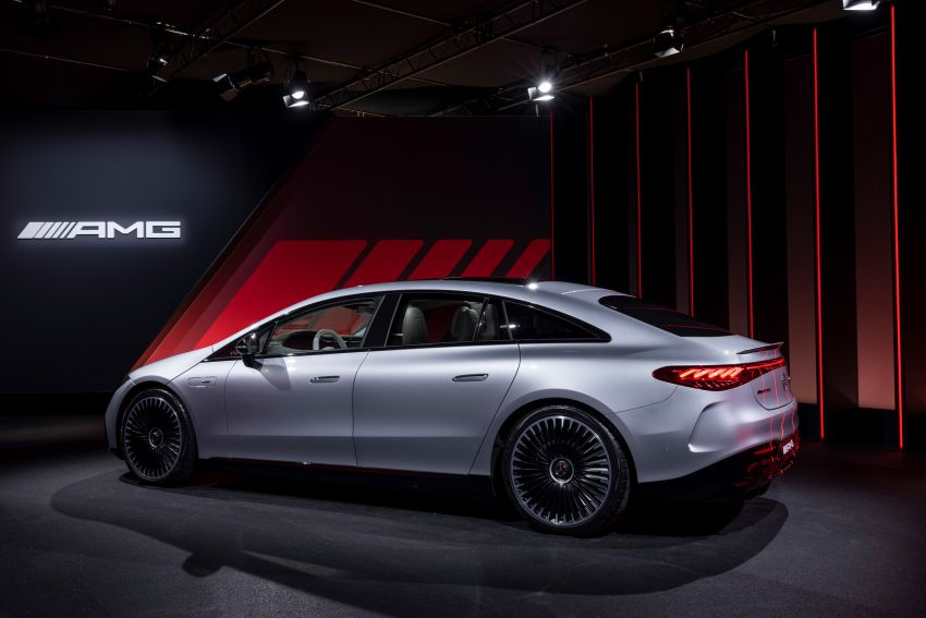Mercedes-AMG EQS53 4Matic+ revealed – brand's first performance EV receives up to 761 PS and 1,020 Nm Image #1341533