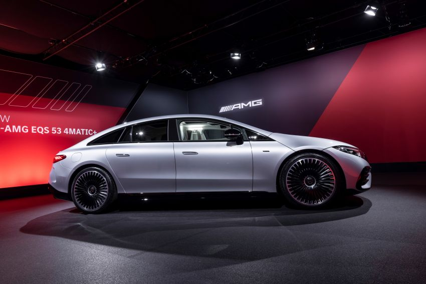 Mercedes-AMG EQS53 4Matic+ revealed – brand's first performance EV receives up to 761 PS and 1,020 Nm Image #1341534
