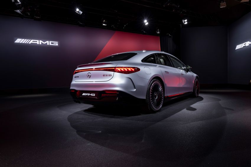 Mercedes-AMG EQS53 4Matic+ revealed – brand's first performance EV receives up to 761 PS and 1,020 Nm Image #1341535