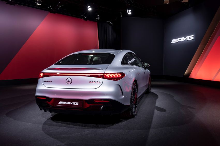 Mercedes-AMG EQS53 4Matic+ revealed – brand's first performance EV receives up to 761 PS and 1,020 Nm Image #1341536