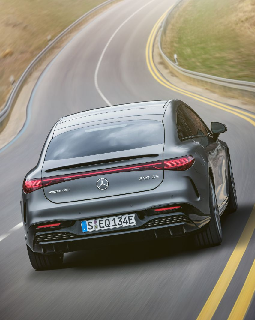 Mercedes-AMG EQS53 4Matic+ revealed – brand's first performance EV receives up to 761 PS and 1,020 Nm Image #1341499