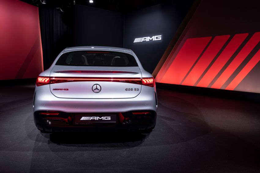 Mercedes-AMG EQS53 4Matic+ revealed – brand's first performance EV receives up to 761 PS and 1,020 Nm Image #1341539