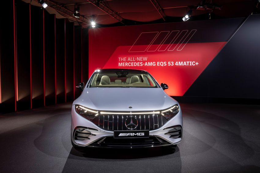 Mercedes-AMG EQS53 4Matic+ revealed – brand's first performance EV receives up to 761 PS and 1,020 Nm Image #1341540