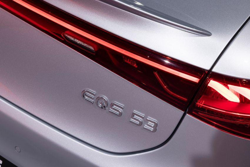 Mercedes-AMG EQS53 4Matic+ revealed – brand's first performance EV receives up to 761 PS and 1,020 Nm Image #1341543