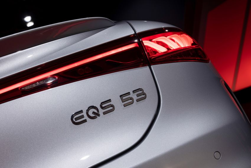 Mercedes-AMG EQS53 4Matic+ revealed – brand's first performance EV receives up to 761 PS and 1,020 Nm Image #1341546