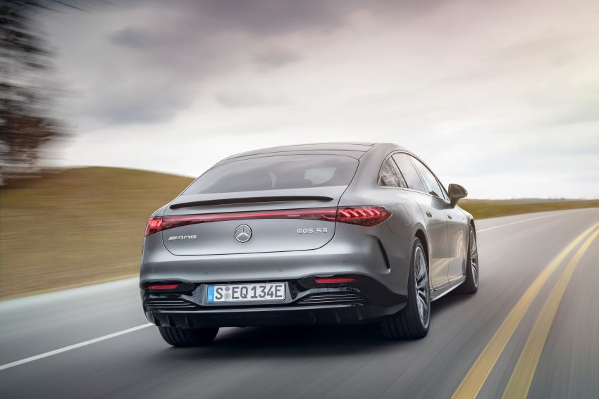 Mercedes-AMG EQS53 4Matic+ revealed – brand's first performance EV receives up to 761 PS and 1,020 Nm Image #1341500