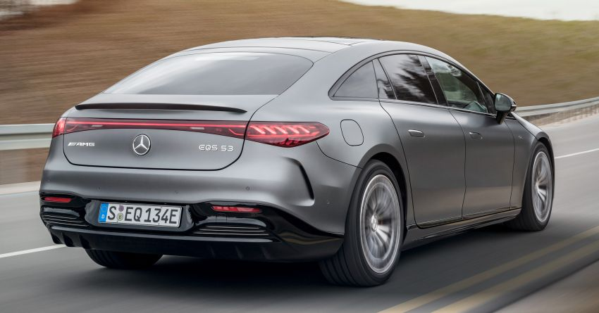 Mercedes-AMG EQS53 4Matic+ revealed – brand's first performance EV receives up to 761 PS and 1,020 Nm Image #1341502
