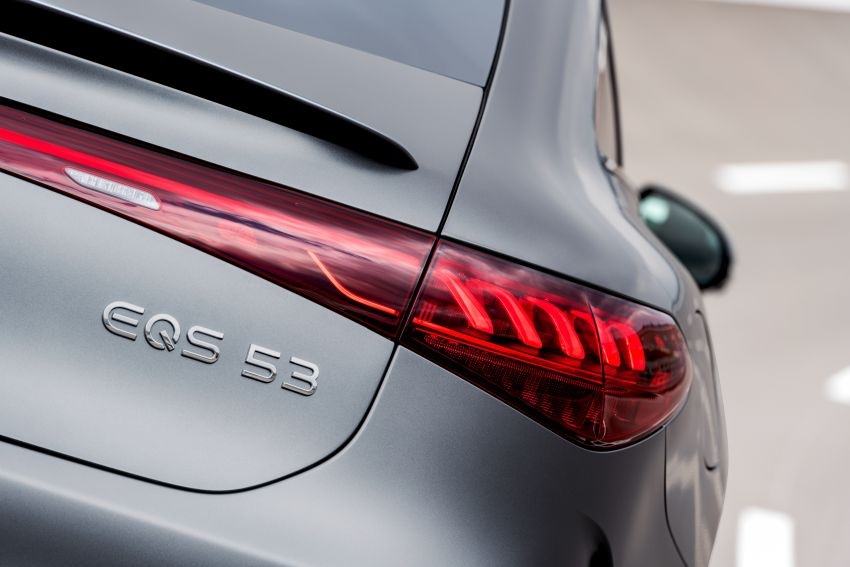 Mercedes-AMG EQS53 4Matic+ revealed – brand's first performance EV receives up to 761 PS and 1,020 Nm Image #1341505