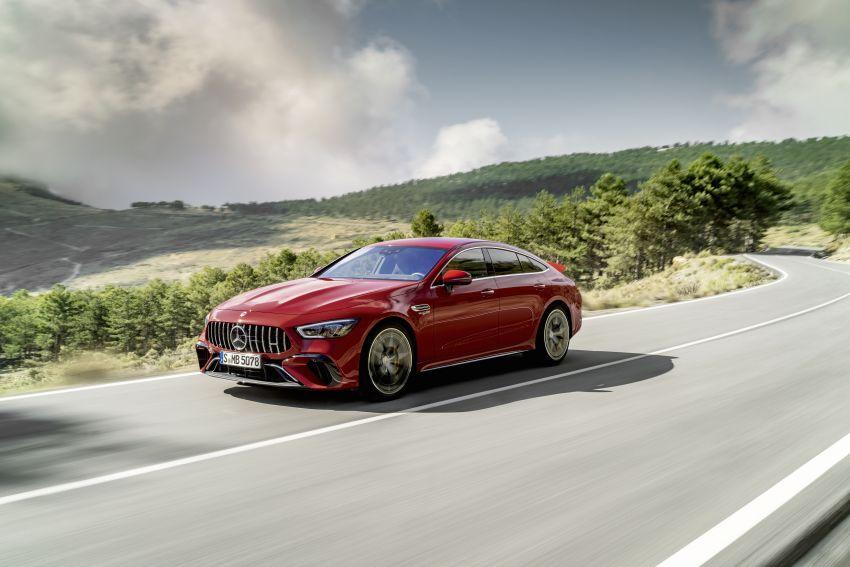 Mercedes-AMG GT63S E Performance didedah – model PHEV AMG pertama dengan kuasa 843 PS, 1,470 Nm Image #1339764