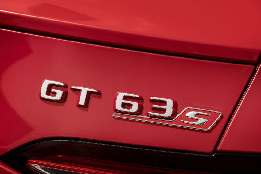 Mercedes-AMG GT63S E Performance didedah – model PHEV AMG pertama dengan kuasa 843 PS, 1,470 Nm Image #1339821