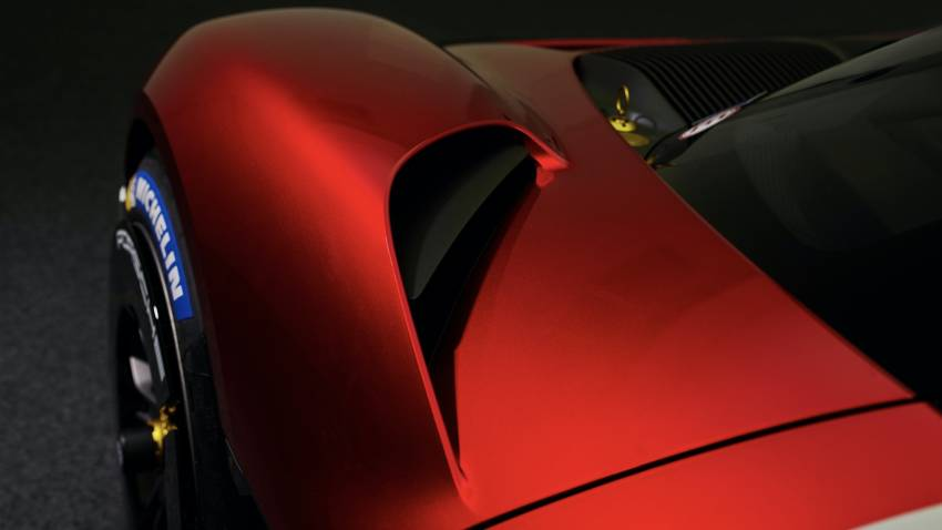 Porsche Mission R – 1,088 PS twin-motor concept with natural fibre bodywork hints at GT racing future Image #1342731