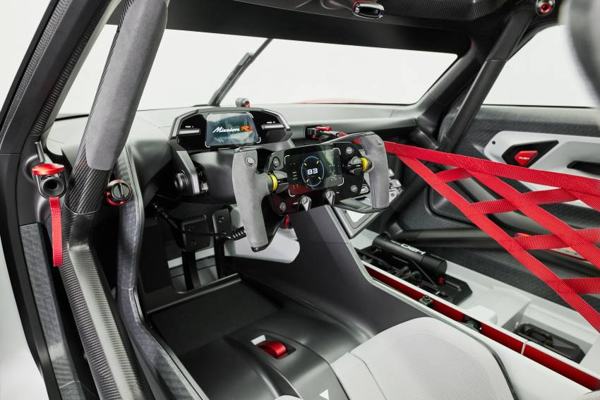 Porsche Mission R – 1,088 PS twin-motor concept with natural fibre bodywork hints at GT racing future Image #1343059