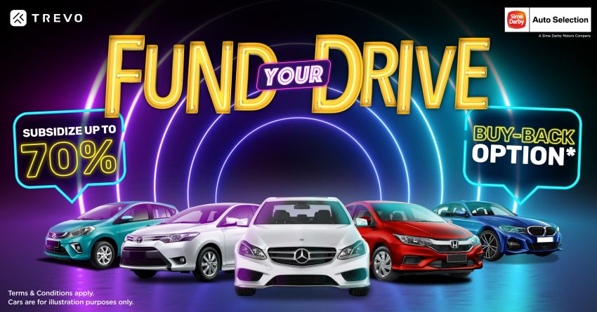 Sime Darby Motors partners Trevo for Fund Your Drive – gain additional income, guaranteed resale value Image #1340406