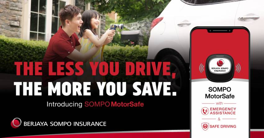 AD: SOMPO MotorSafe – a usage-based car insurance plan, where the less you drive, the more you save Image #1348173
