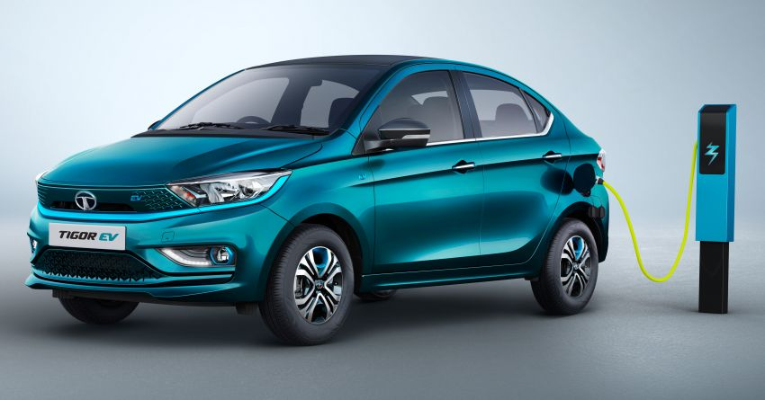 Tata Tigor EV facelift launched in India – affordable entry-level electric vehicle with 306 km range; fr RM68k Image #1339968