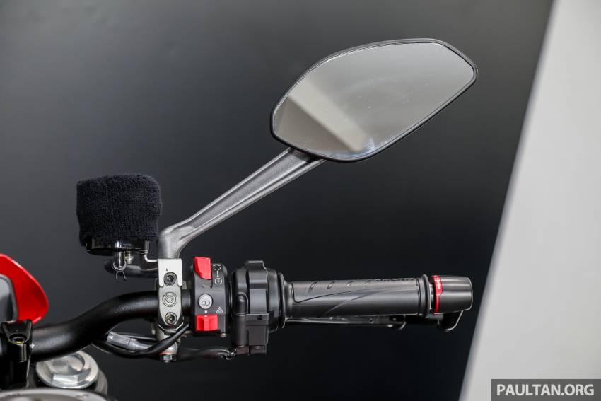 Can canh Ducati Monster 2022 vua ra mat tai Dong Nam A - 23