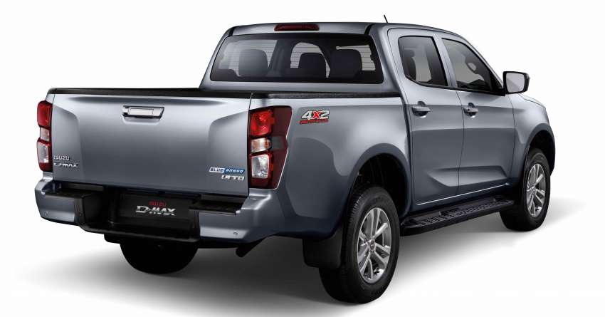 2021 Isuzu D-Max gets new 1.9L 4×2 AT Plus variant in Malaysia – from RM100,999; rear-wheel drive only Image #1359901