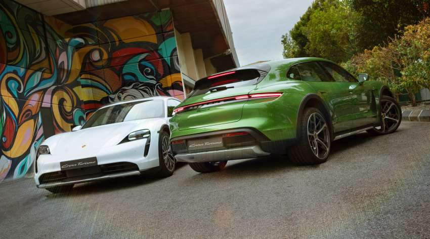 2021 Porsche Taycan Cross Turismo EV launched in Malaysia – three variants; priced from RM645k Image #1360501