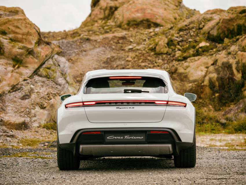 2021 Porsche Taycan Cross Turismo EV launched in Malaysia – three variants; priced from RM645k Image #1360497