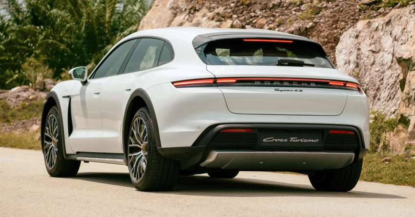 2021 Porsche Taycan Cross Turismo EV launched in Malaysia – three variants; priced from RM645k Image #1360500