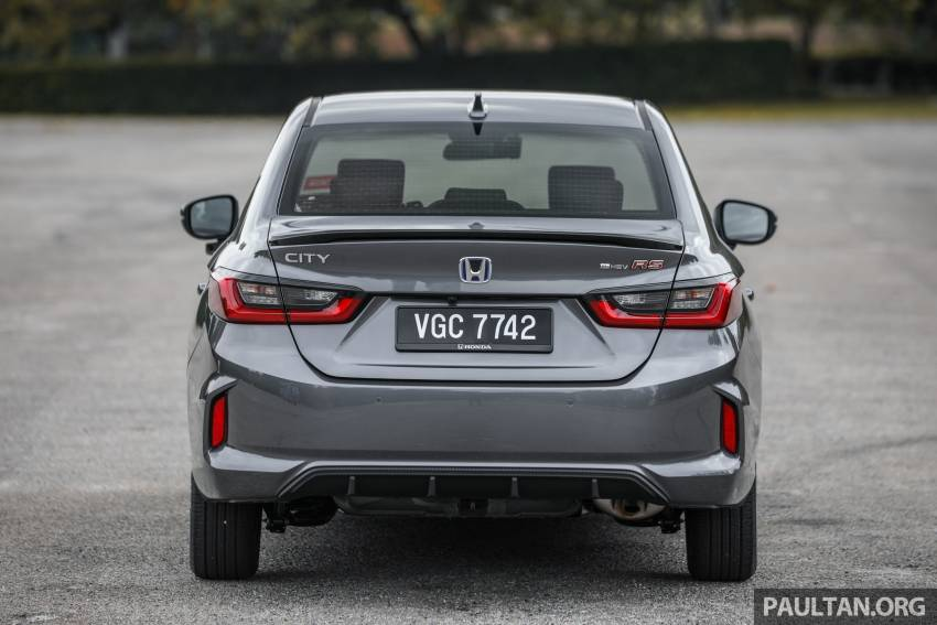 REVIEW: Honda City RS e:HEV in Malaysia – RM106k Image #1355801