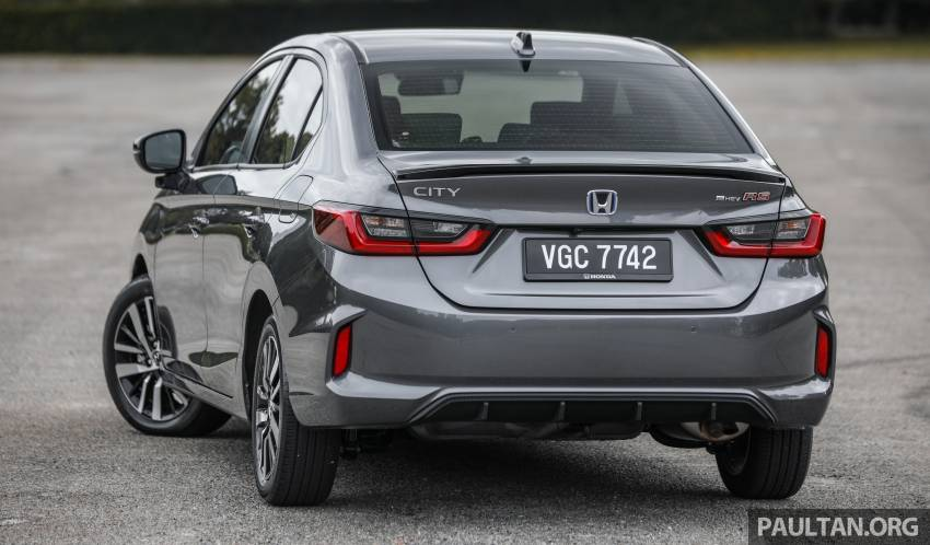 REVIEW: Honda City RS e:HEV in Malaysia – RM106k Image #1355797