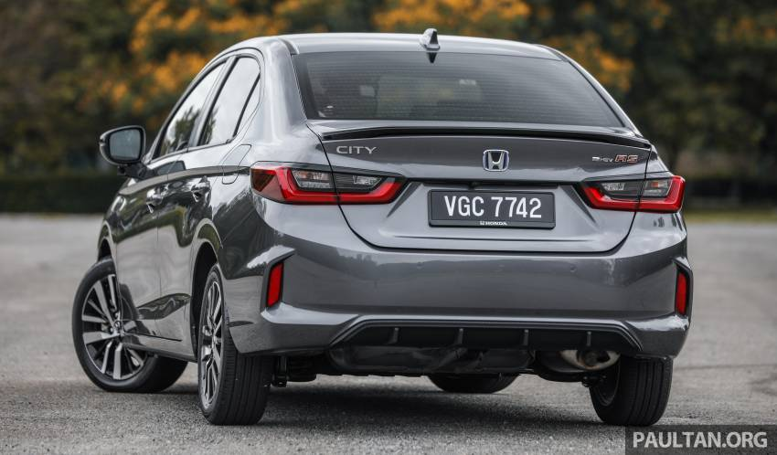 REVIEW: Honda City RS e:HEV in Malaysia – RM106k Image #1355798