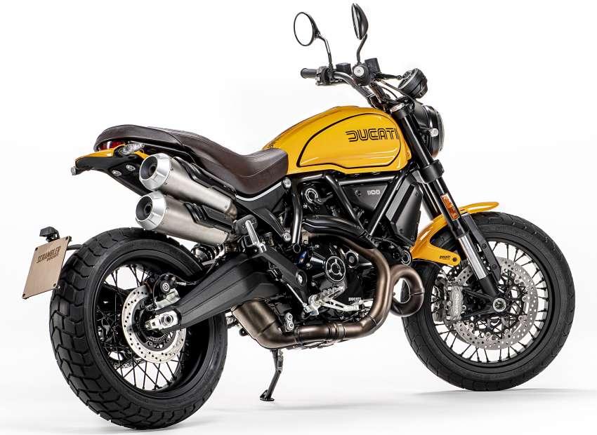 2022 Ducati Scrambler 1100 Tribute Pro joins lineup Image #1361289
