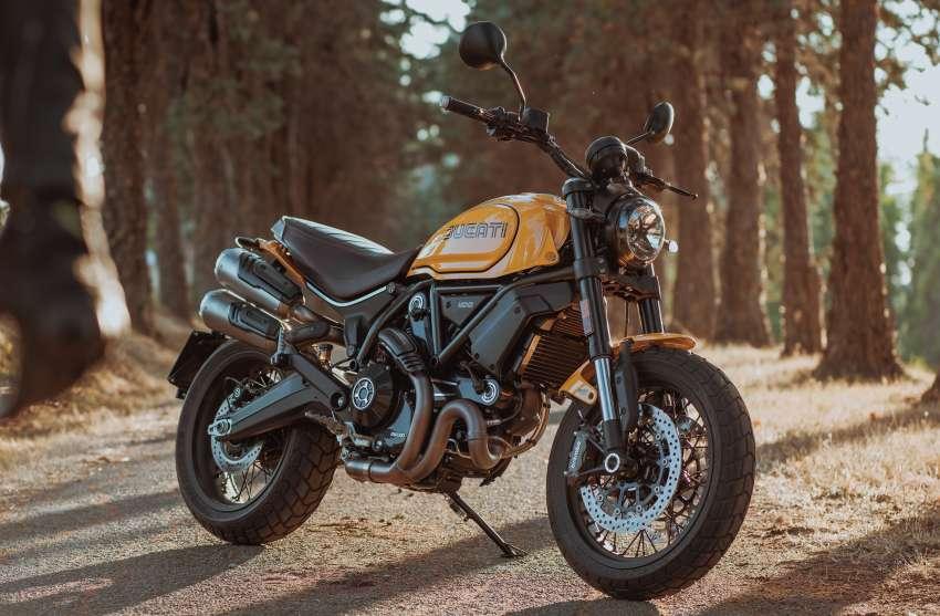 2022 Ducati Scrambler 1100 Tribute Pro joins lineup Image #1361307