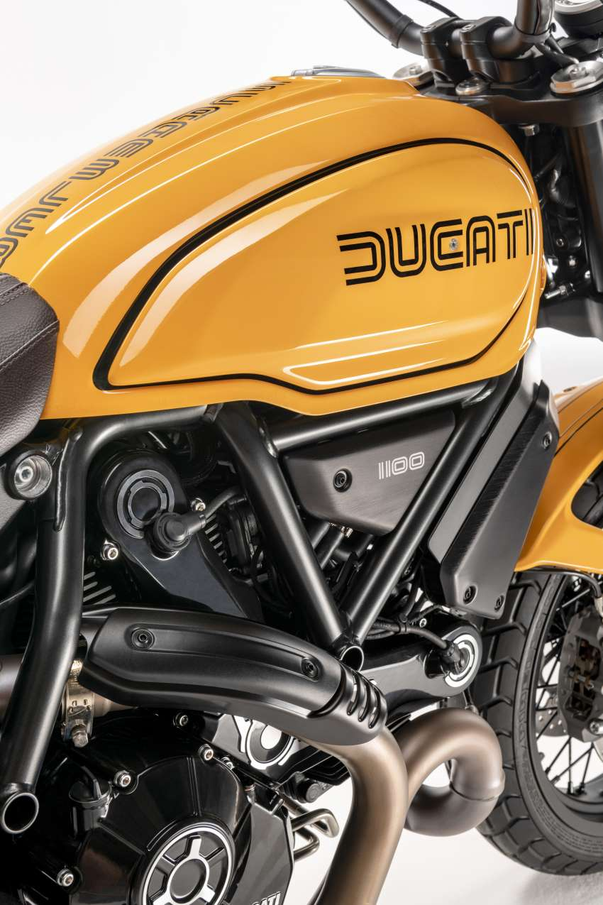 2022 Ducati Scrambler 1100 Tribute Pro joins lineup Image #1361296