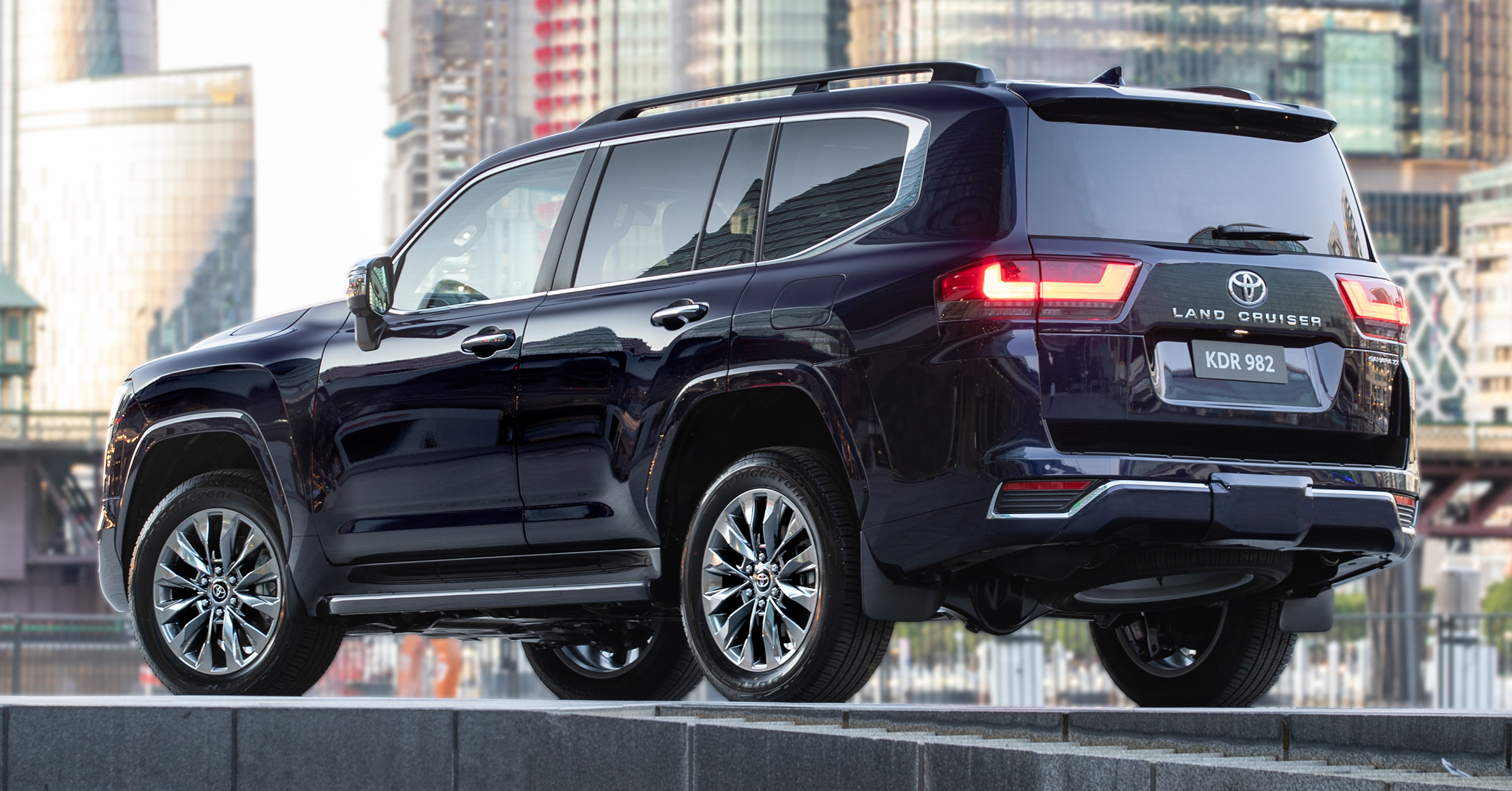 2022 Toyota Land Cruiser 300 launched in Australia