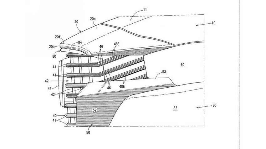 Mazda CX-50 exterior seen in patent filing images Image #1360476
