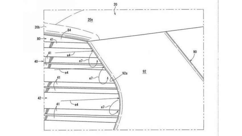Mazda CX-50 exterior seen in patent filing images Image #1360478