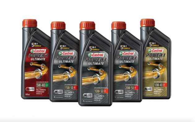 Castrol Power1 Ultimate motorcycle lubes – fr RM55