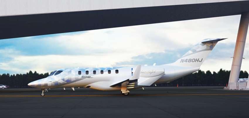 HondaJet 2600 Concept unveiled – first light jetplane capable of non-stop, transcontinental US flight Image #1360615