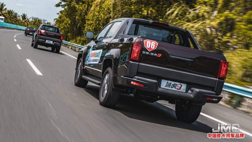 JMC Vigus Pro in Malaysia with Ford engine, ZF 8AT, BorgWarner 4WD, Bosch ESP – new Hilux rival? Image #1357129