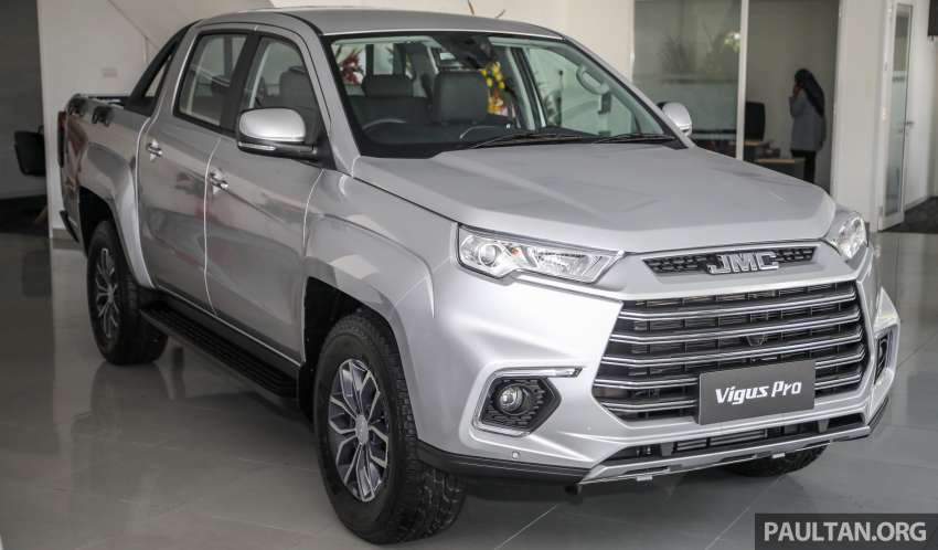 JMC Vigus Pro 4×4 launched in Malaysia – pick-up truck with Ford 2.0 TDCi, ZF8 auto; CKD, RM98,888 Image #1359560