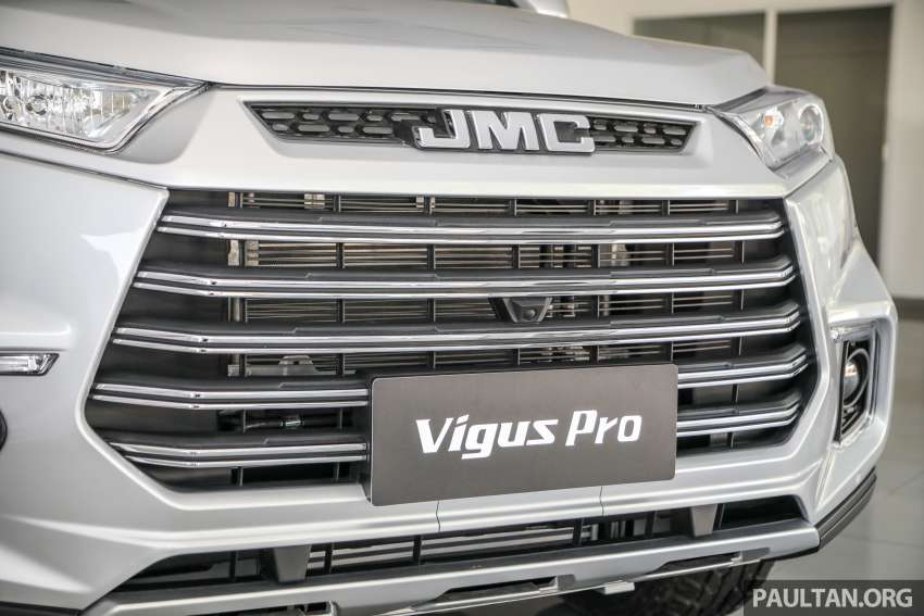 JMC Vigus Pro 4×4 launched in Malaysia – pick-up truck with Ford 2.0 TDCi, ZF8 auto; CKD, RM98,888 Image #1359573