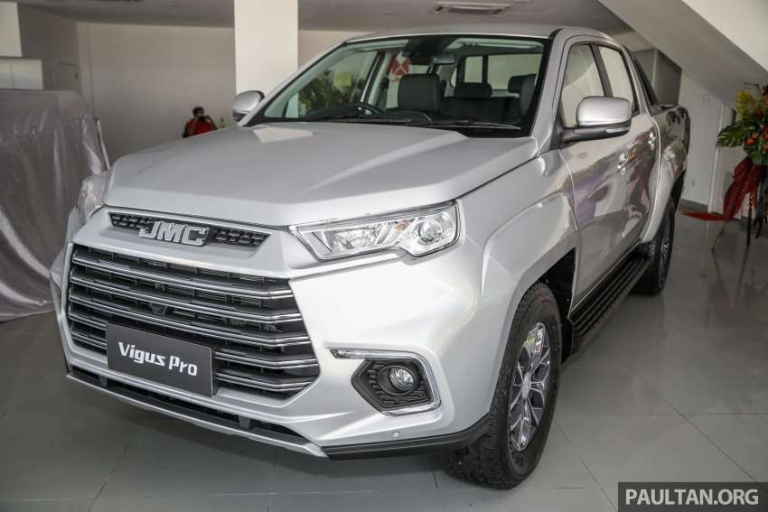 JMC Vigus Pro 4×4 launched in Malaysia – pick-up truck with Ford 2.0 TDCi, ZF8 auto; CKD, RM98,888 Image #1359561