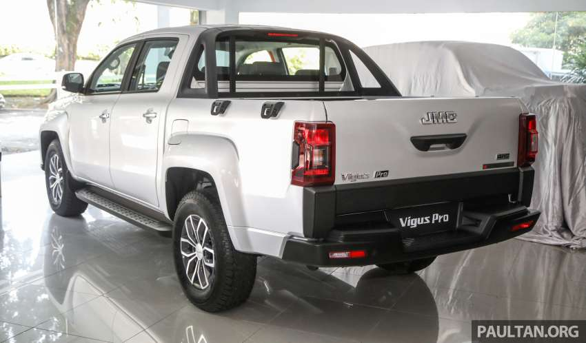 JMC Vigus Pro 4×4 launched in Malaysia – pick-up truck with Ford 2.0 TDCi, ZF8 auto; CKD, RM98,888 Image #1359562