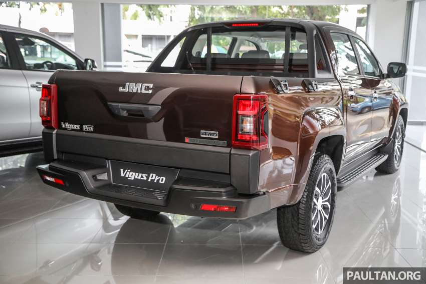 JMC Vigus Pro 4×4 launched in Malaysia – pick-up truck with Ford 2.0 TDCi, ZF8 auto; CKD, RM98,888 Image #1359600