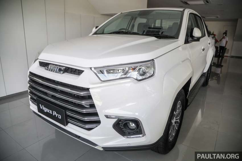 JMC Vigus Pro 4×4 launched in Malaysia – pick-up truck with Ford 2.0 TDCi, ZF8 auto; CKD, RM98,888 Image #1359601