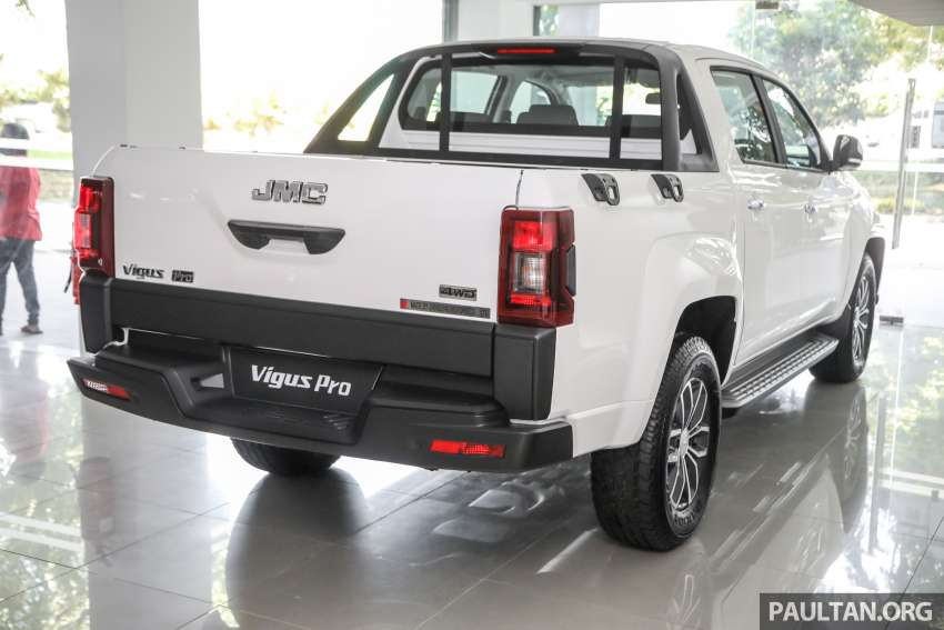 JMC Vigus Pro 4×4 launched in Malaysia – pick-up truck with Ford 2.0 TDCi, ZF8 auto; CKD, RM98,888 Image #1359602
