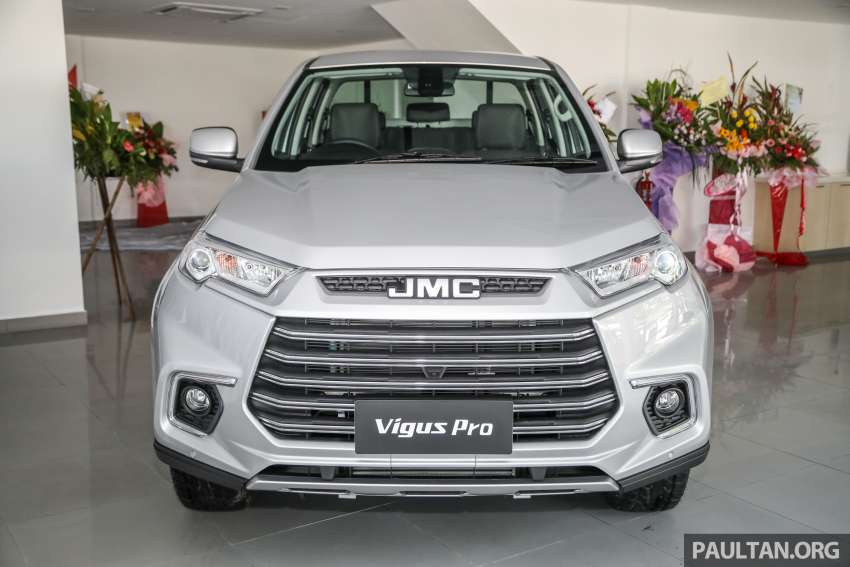 JMC Vigus Pro 4×4 launched in Malaysia – pick-up truck with Ford 2.0 TDCi, ZF8 auto; CKD, RM98,888 Image #1359565