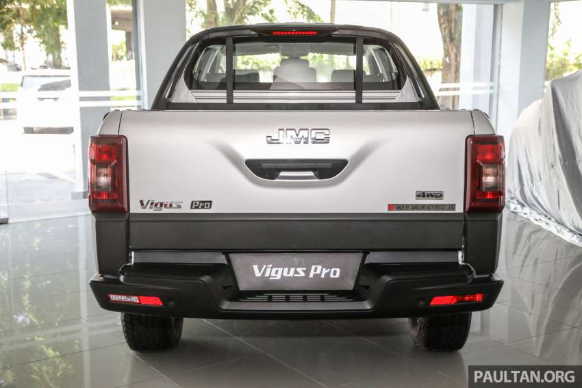 JMC Vigus Pro 4×4 launched in Malaysia – pick-up truck with Ford 2.0 TDCi, ZF8 auto; CKD, RM98,888 Image #1359566
